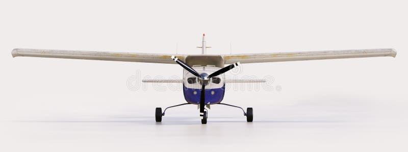 Avion privé léger illustration libre de droits