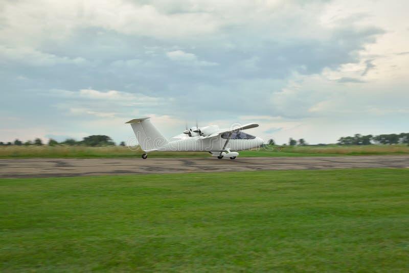 Avion privé léger photo libre de droits