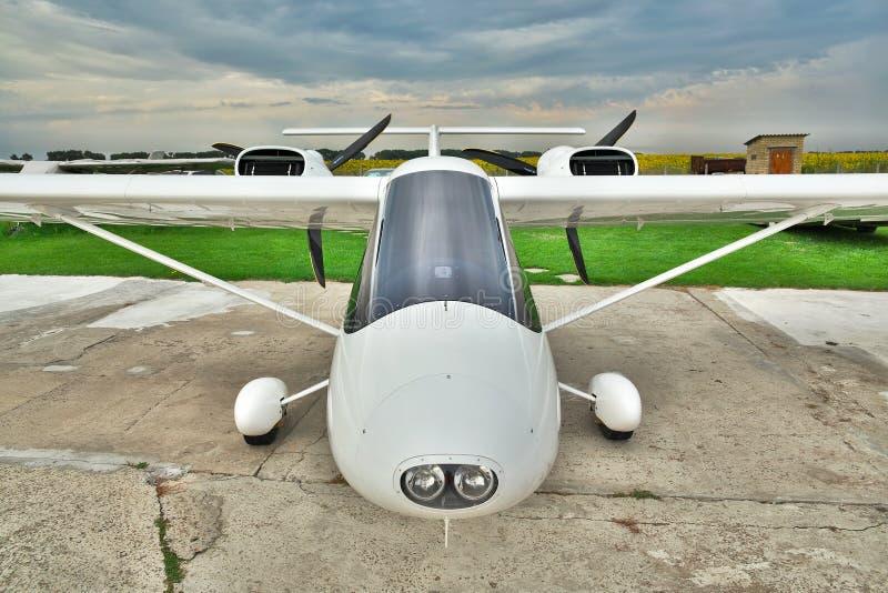 Avion privé léger photographie stock libre de droits