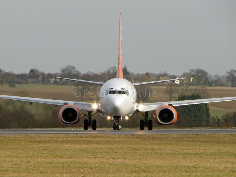 Avion sur l'avant photo libre de droits