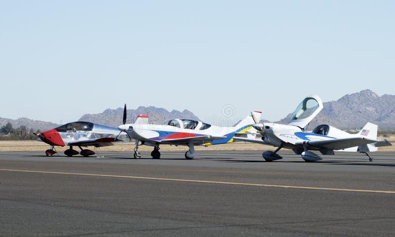 Aviones 1 de Homebuilt fotografía de archivo