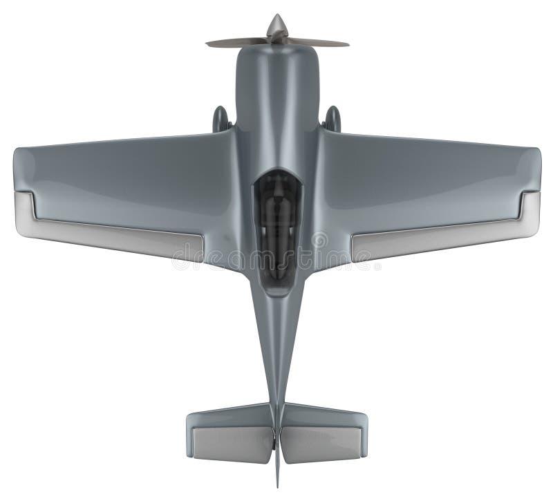 Aviones aeroacrobacias ilustración del vector