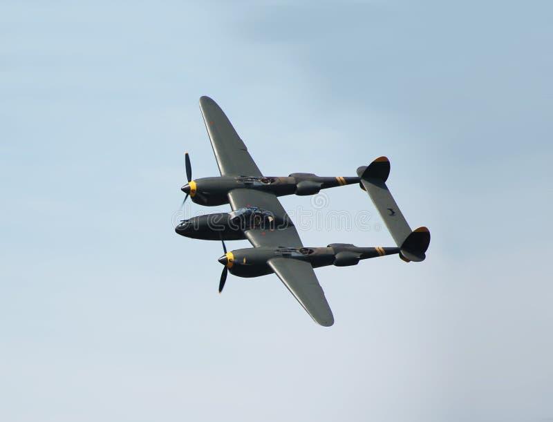 Aviones clásicos P-38 imagen de archivo libre de regalías