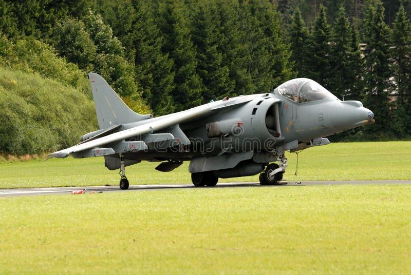 Aviones de ataque del corredor de cross de AV-8B imagen de archivo libre de regalías