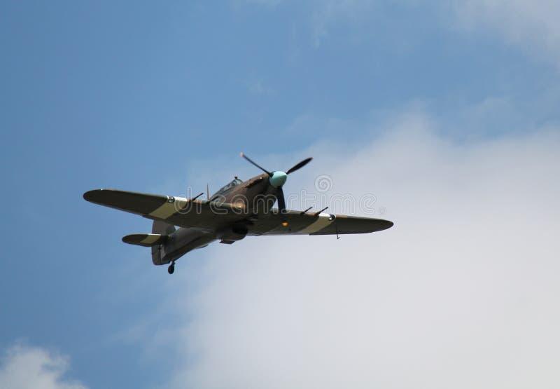 Aviones de combate del huracán fotos de archivo