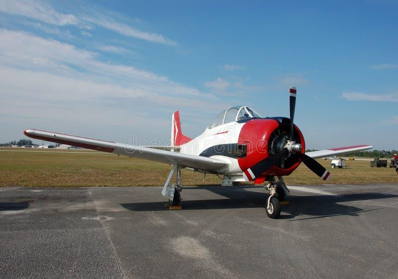 Aviones de la vendimia fotos de archivo libres de regalías