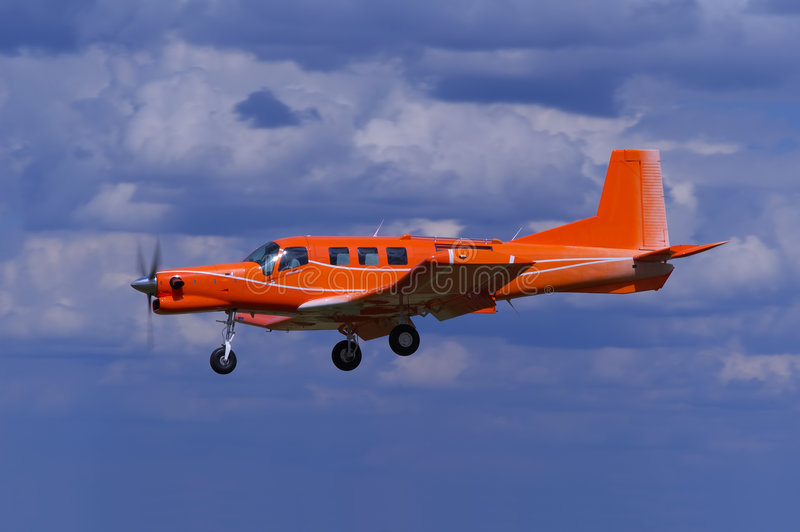 Aviones del turbopropulsor imagen de archivo libre de regalías