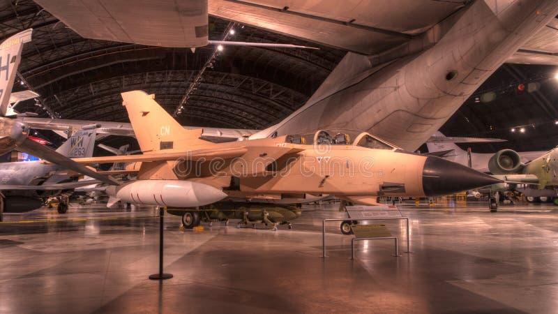 Aviones en el museo del U.S.A.F., Dayton, Ohio foto de archivo libre de regalías