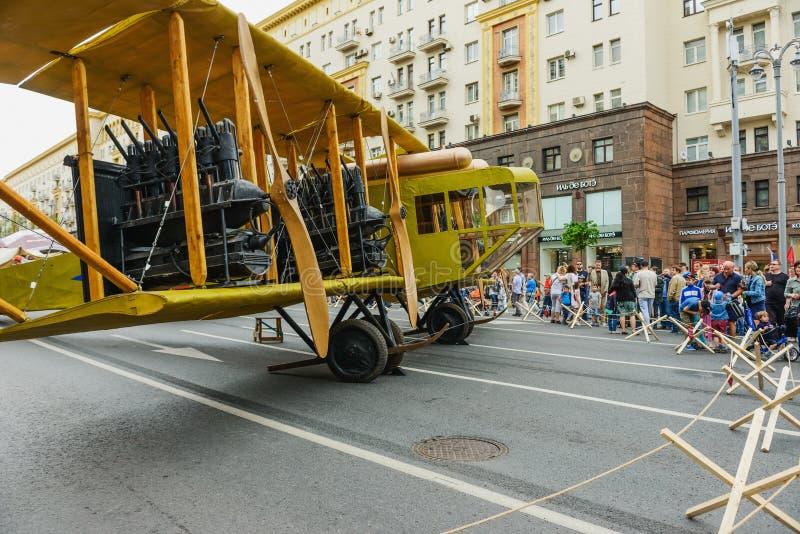 Aviones internacionales Ilya Muromets del festival fotos de archivo libres de regalías