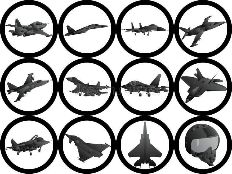 Aviones militares libre illustration