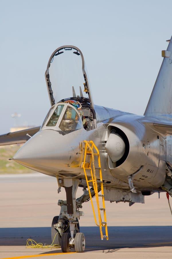 Aviones militares imagen de archivo
