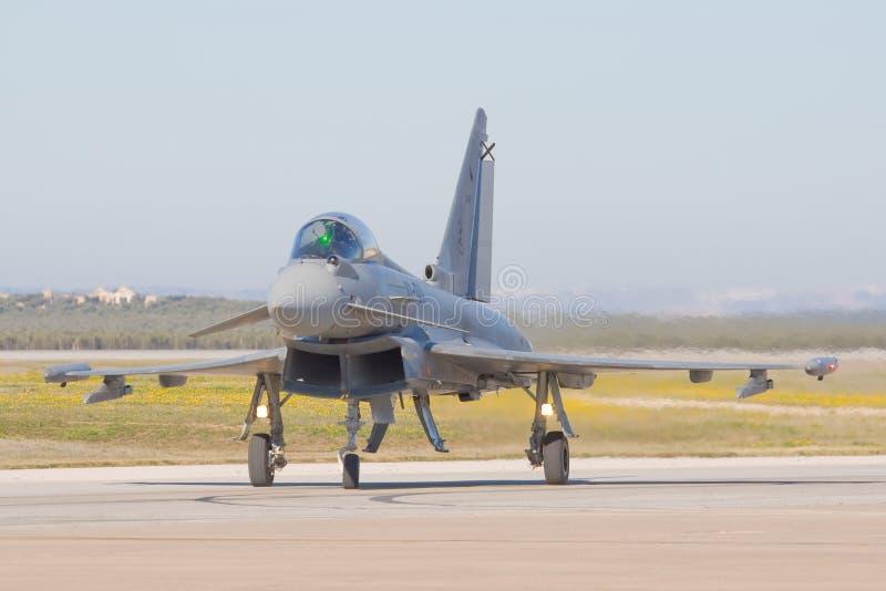 Aviones militares españoles fotografía de archivo libre de regalías