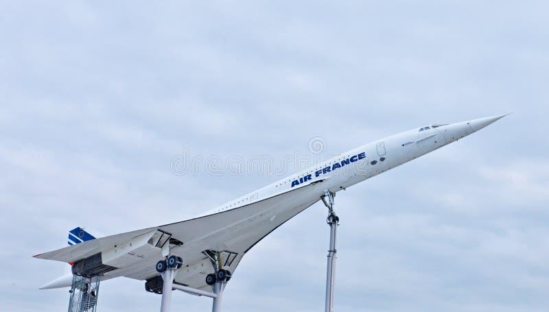 Aviones supersónicos Concorde fotos de archivo libres de regalías