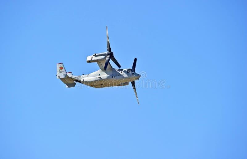 Aviones Tiltrotor de Bell Boeing MV-22 Osprey fotos de archivo libres de regalías