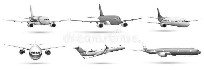 Avions illustration de vecteur