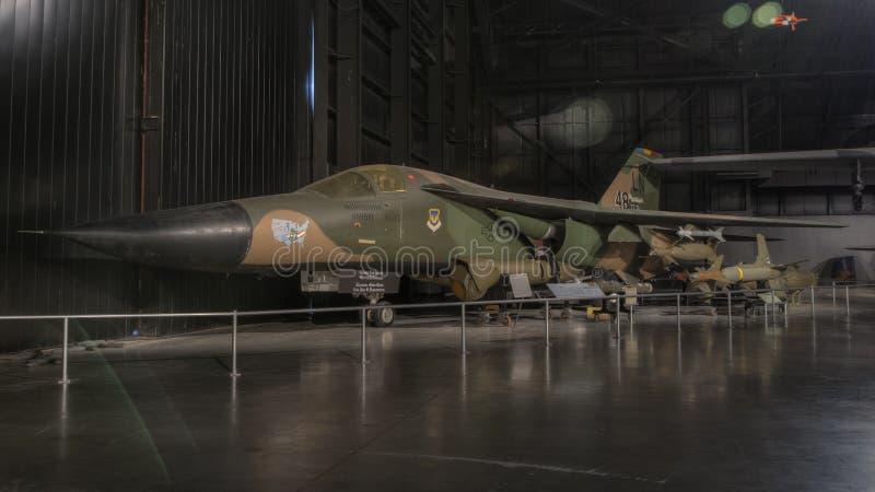 Avions au musée de l'U.S. Air Force, Dayton, Ohio photo stock