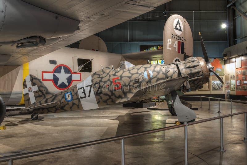 Avions au musée de l'U.S. Air Force, Dayton, Ohio photographie stock libre de droits