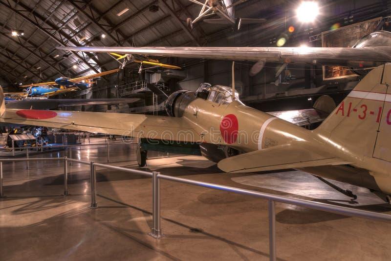 Avions au musée de l'U.S. Air Force, Dayton, Ohio photos stock