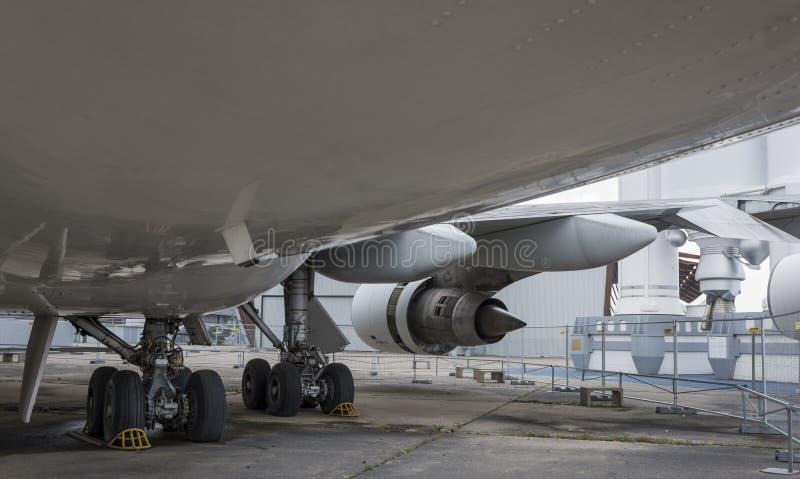 Avions Boeing 747 dans le musée de l'astronautique et de l'aviation photo stock