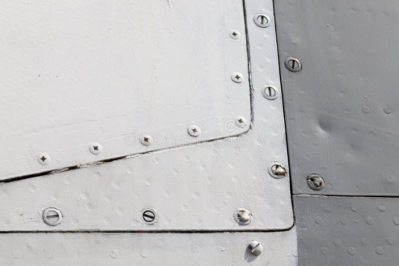 Avions de corps en métal images libres de droits