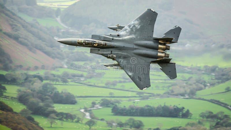 Avions de l'avion de chasse F15 photo stock