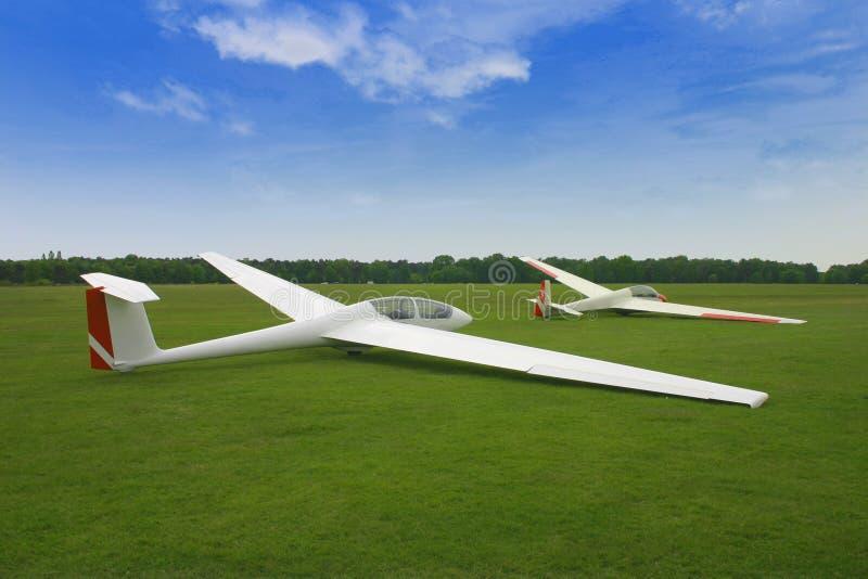 Avions de planeur photos stock