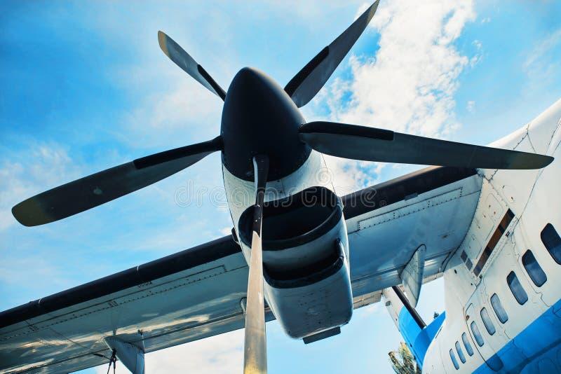 Avions de propulseur de moteur, style industriel photo libre de droits