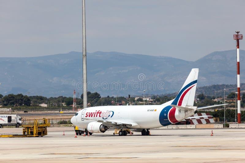 Avions de SwiftAir photos libres de droits