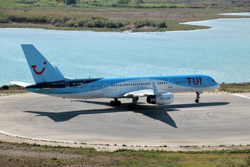 Avions de TUI Airways photographie stock libre de droits
