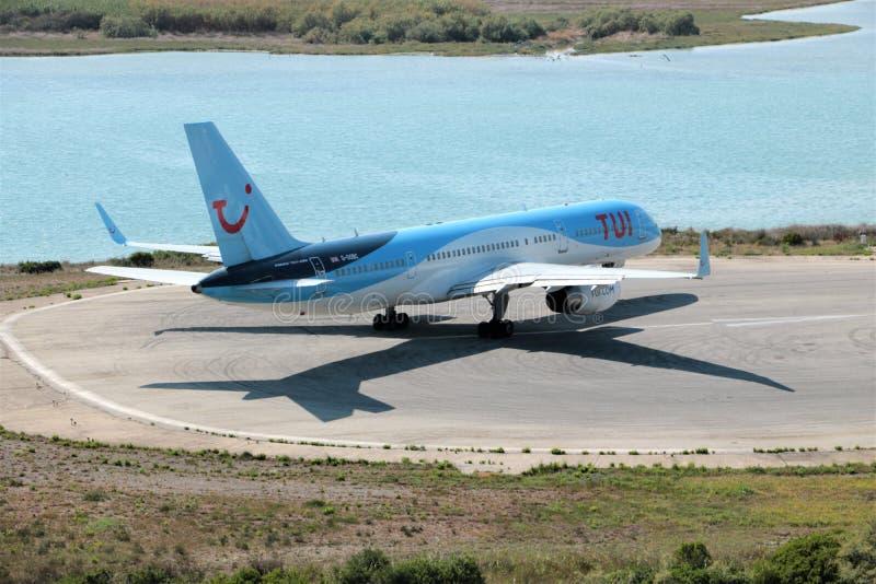 Avions de TUI Airways photo stock