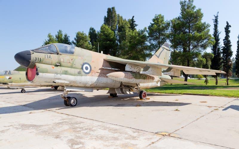 Avions du corsaire II de LTV A-7H images libres de droits