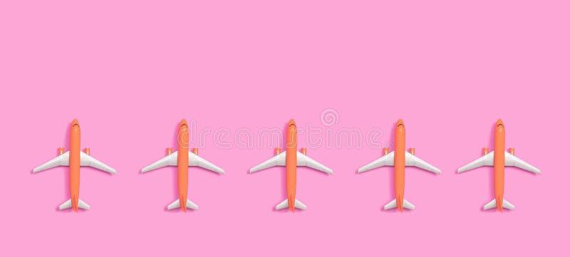 Avions miniatures de jouet illustration libre de droits