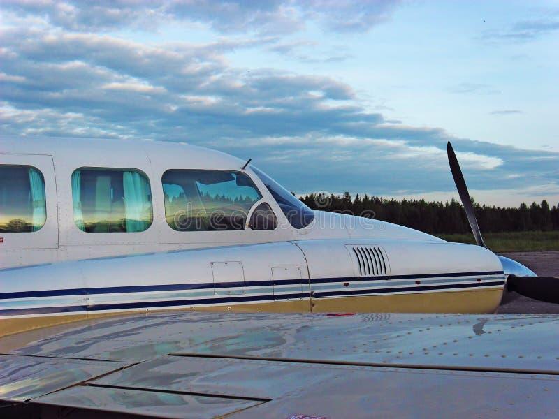 Avions Piper Navajo photo stock