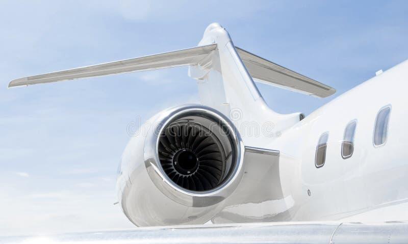 Avions privés de luxe - le bombardier global expriment photos stock