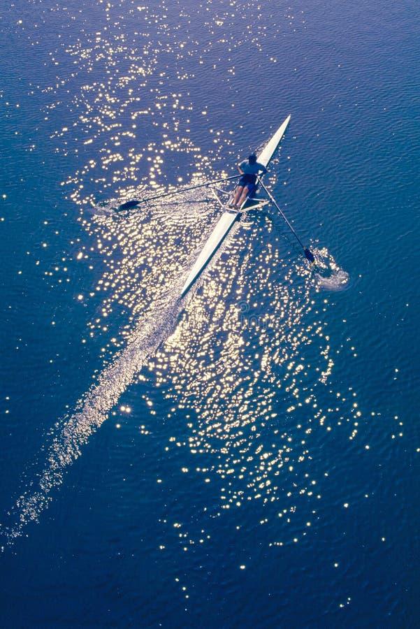 aviron сольное стоковая фотография rf