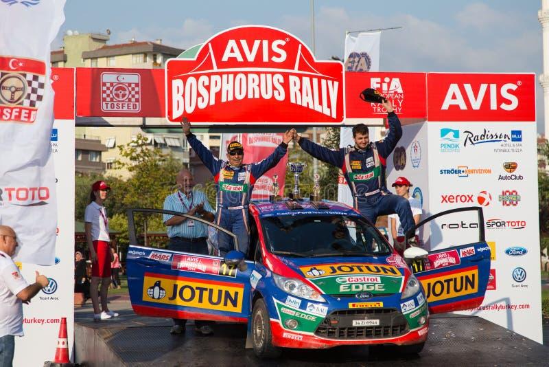 Avis Bosphorus Rally fotografía de archivo libre de regalías