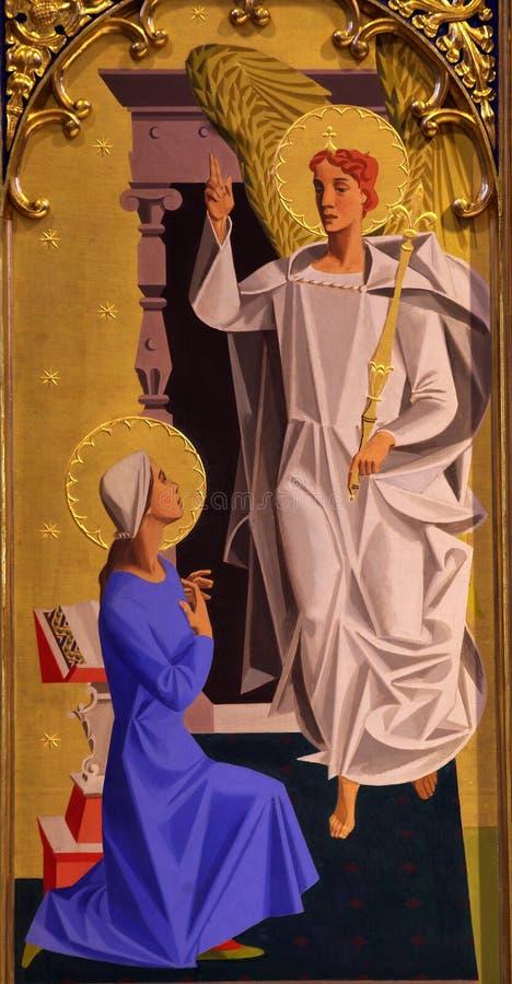Aviso (pintura mural) fotografia de stock royalty free