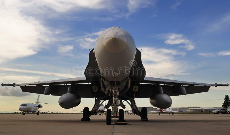 Avispón F/A-18 fotografía de archivo
