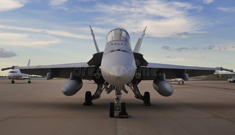 Avispón militar F/A-18 imagen de archivo libre de regalías