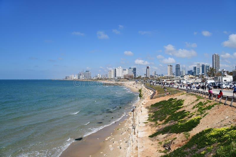 特拉维夫,以色列 免版税库存照片