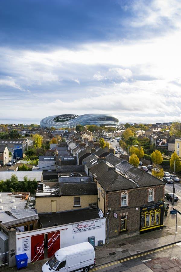Aviva Stadium Dublin fotografia de stock