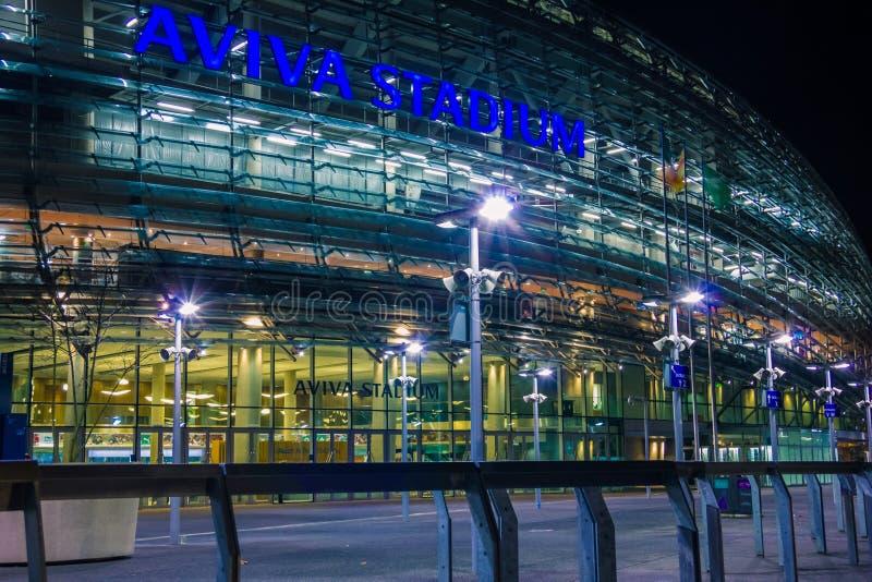 Aviva Stadium dublin ireland fotografia de stock