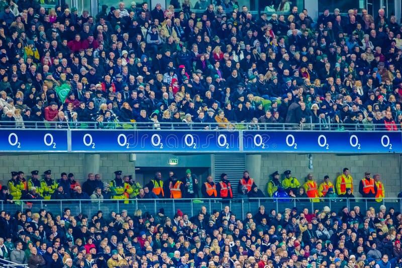 Aviva Stadium dublin ireland foto de stock