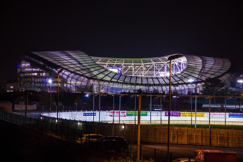 Aviva Stadium dublin ireland imagem de stock royalty free