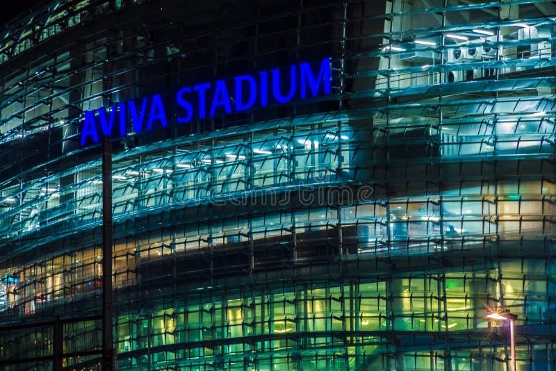 Aviva Stadium dublin ireland fotos de stock