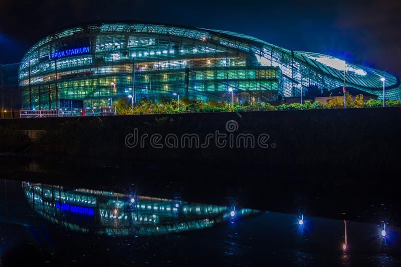 Aviva Stadium dublin ireland imagens de stock royalty free