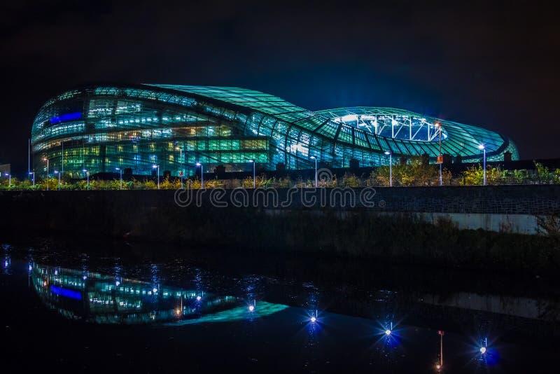 Aviva Stadium dublin ireland imagem de stock