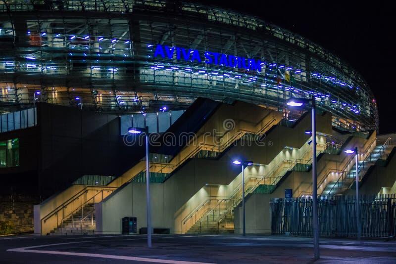 Aviva Stadium dublino l'irlanda fotografie stock