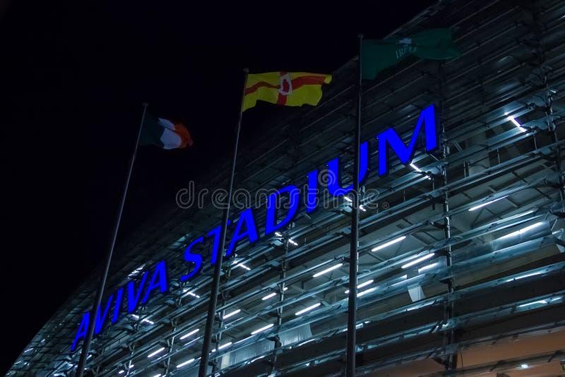 Aviva Stadium. Dublin. Ireland royalty free stock photo