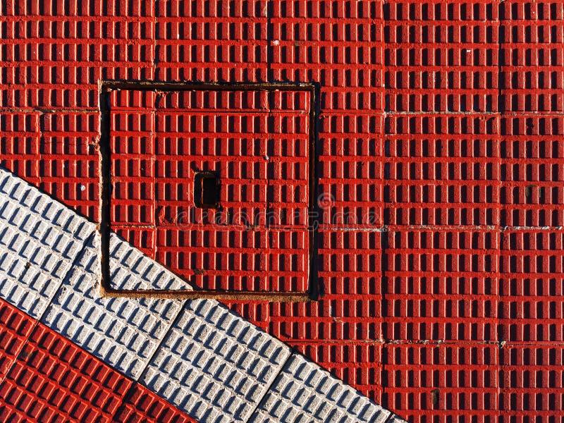 Avklopp på golvet fotografering för bildbyråer